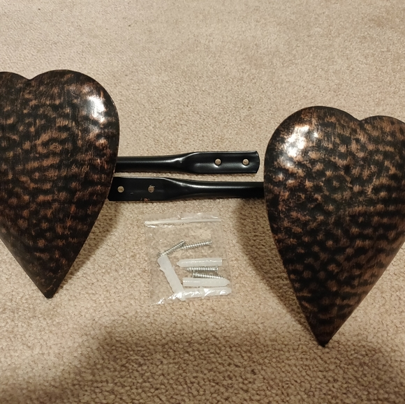 Other - Country Heart Curtain Tie Backs